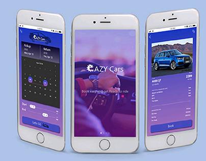 Rental Cars Mobile Application