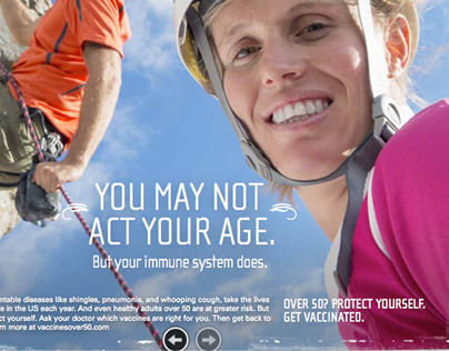 Pfizer Vaccine Awareness Campaign