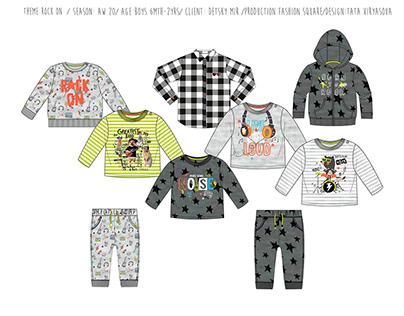 rock & roll toddler boys fashion capsule