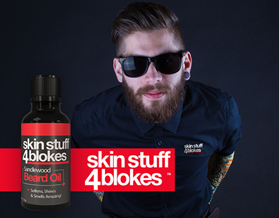 SKIN STUFF 4 BLOKES™ Beard Oils