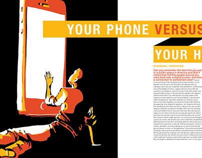 Your Phone versus Your Heart