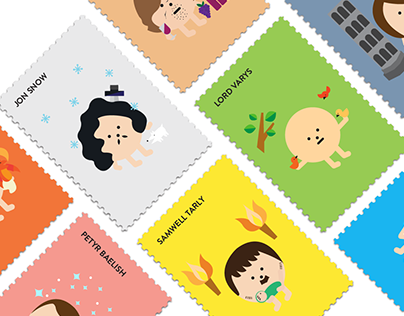 Game of Thrones Stamps