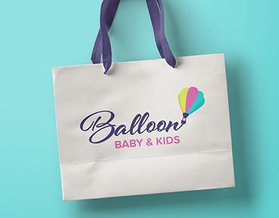 Logotipo – Balloon Baby & Kids