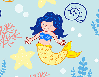 Surface Design Mermaid