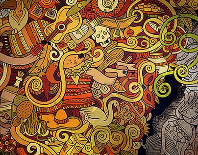 Latin American Doodles