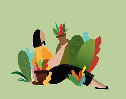 Website illustrations: Nestabide.