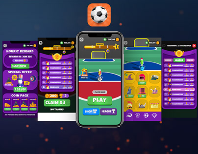 Goal Party Game UI-UX
