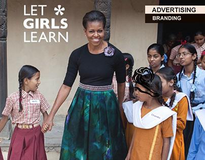 MICHELLE OBAMA | LET GIRLS LEARN REBRAND