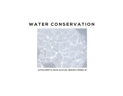 Water Conservation | Sustainability Research Book
