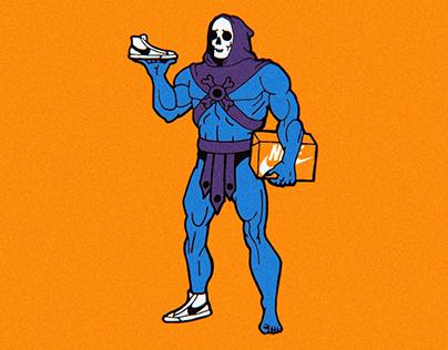 Skeletor gets Blazers