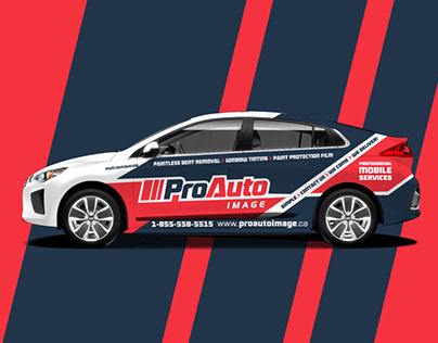 ProAuto Image - Identity & Branding