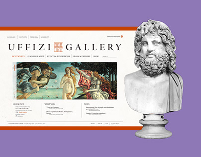 Usability for Art's Sake - Uffizi Gallery Website