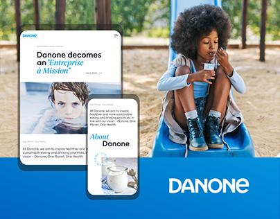 Danone — Corporate Website