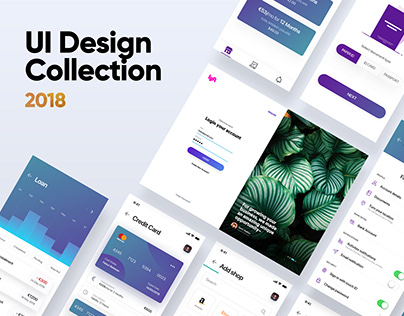 UI Design Collection 2018
