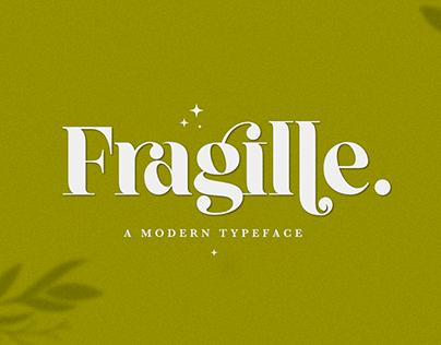 Fragille Font | Modern Typeface | Free Font