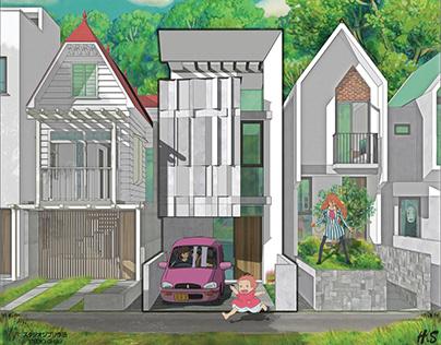 4 x 20 house