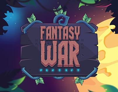 Fantasy War. Game art.