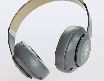 3D. Beats Studio 3 Wireless