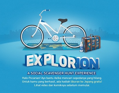 Explorion: A Social Scavanger Hunt Experience