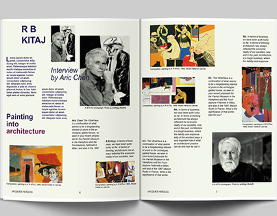 Magazine Article - Editorial Design
