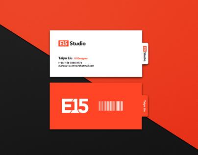 E15 Studio Brand Design