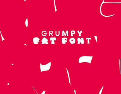 GRUMPY FAT FONT - Variable Font