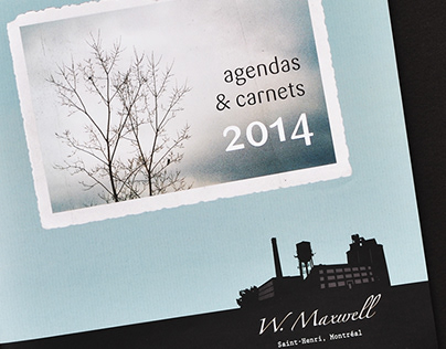 Catalogue des agendas 2014 W.Maxwell