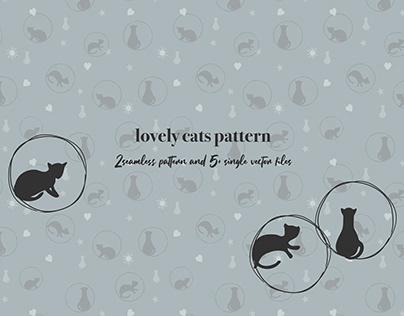 Lovely Cats Pattern