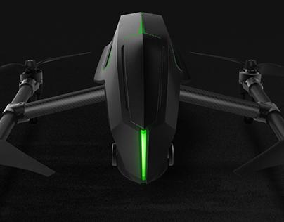 XIRO-专业型航拍无人机设计(个人原创设计)
