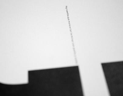 »El fin de la lectura« | 2017