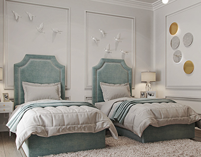 Corona Render | Karaca Dizayn | Girl Bedroom