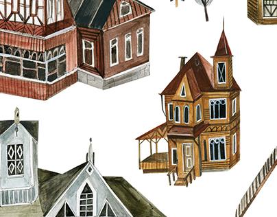 Illustration for the children's museum of history #3