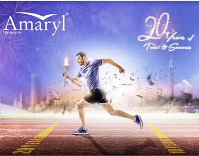 Amaryl® 20 years new visual design