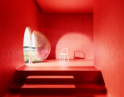 Moroso chair visual & interior design