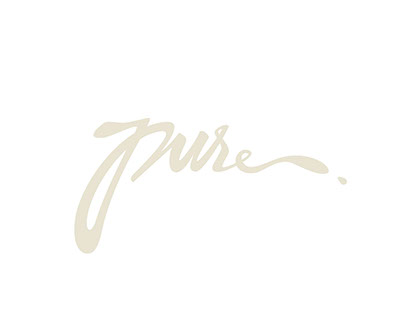 PURE / HAND LETTERING