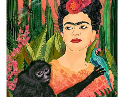 My Frida. Personal work.