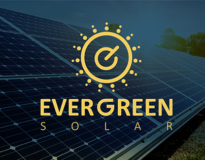 Brand Identity for ever green solar company