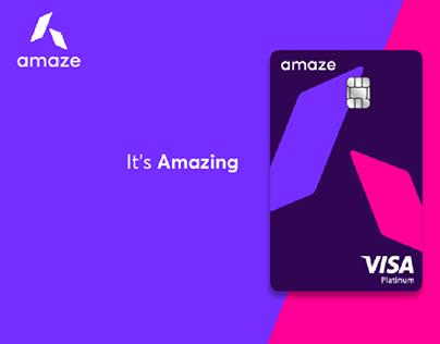 Amaze Card Product Launch