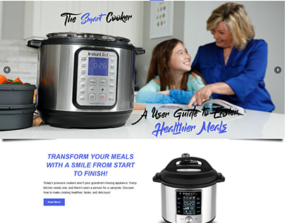 Pressure Cook Pro ~ The Smart Cooker ~ Webfolio