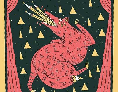 Sword Swallowing Fox