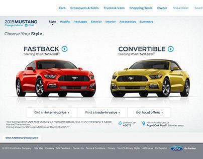 Ford Build & Price Configurator