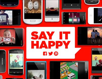 Coca-Cola – Say It Happy