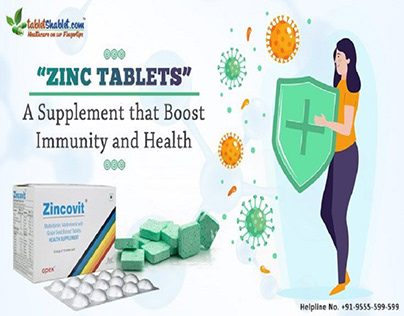 Zinc Tablets Boost Immunity and Health | TabletShablet