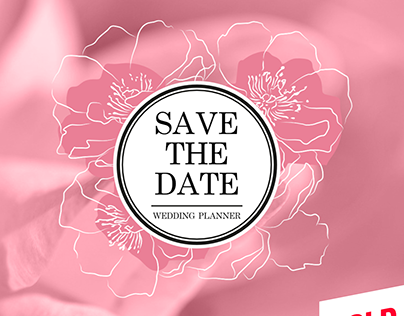 SAVE THE DATE - Logo Wedding Planner