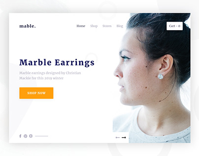 Jewelry E-commerce Landing Page