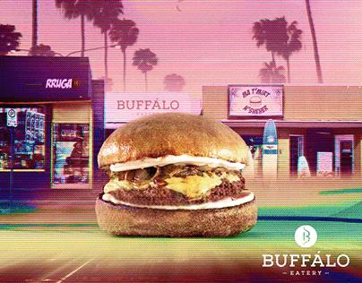 """Gustavo 80s"" - Buffálo Eatery - Social Media project"