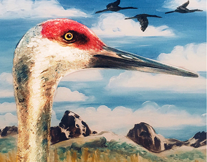 Greater Yellowstone Crane Festival Poster submission