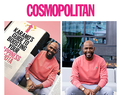 Cosmopolitan Karamo Brown