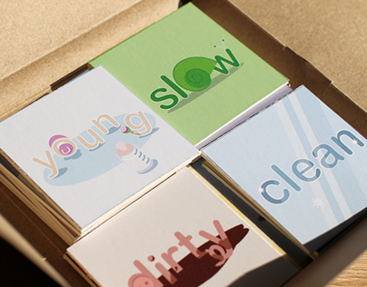 Adjectives Card Set