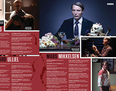 SFX Bookazine - Horror Special: Layout Design
